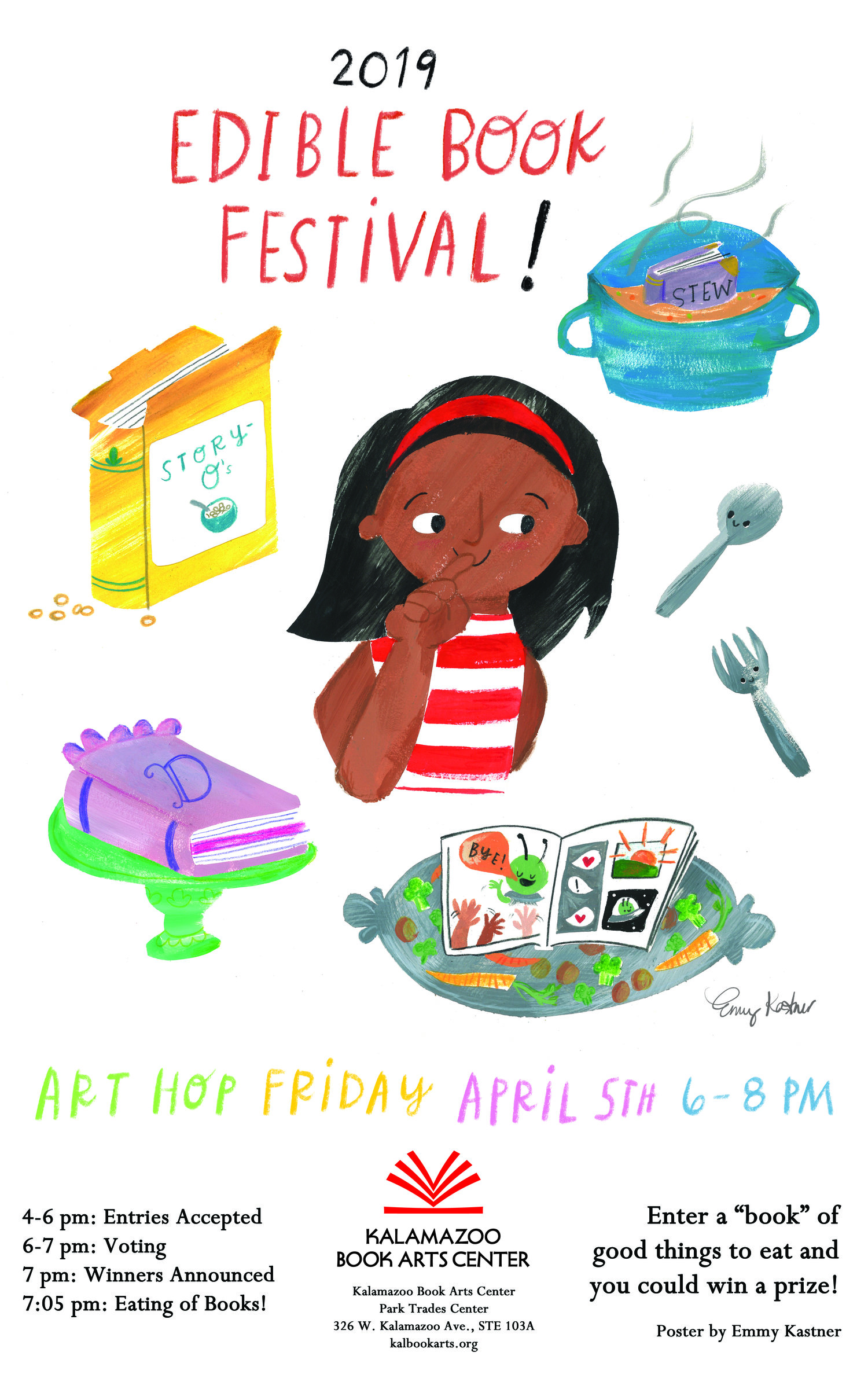 April 2019: Edible Book Festival