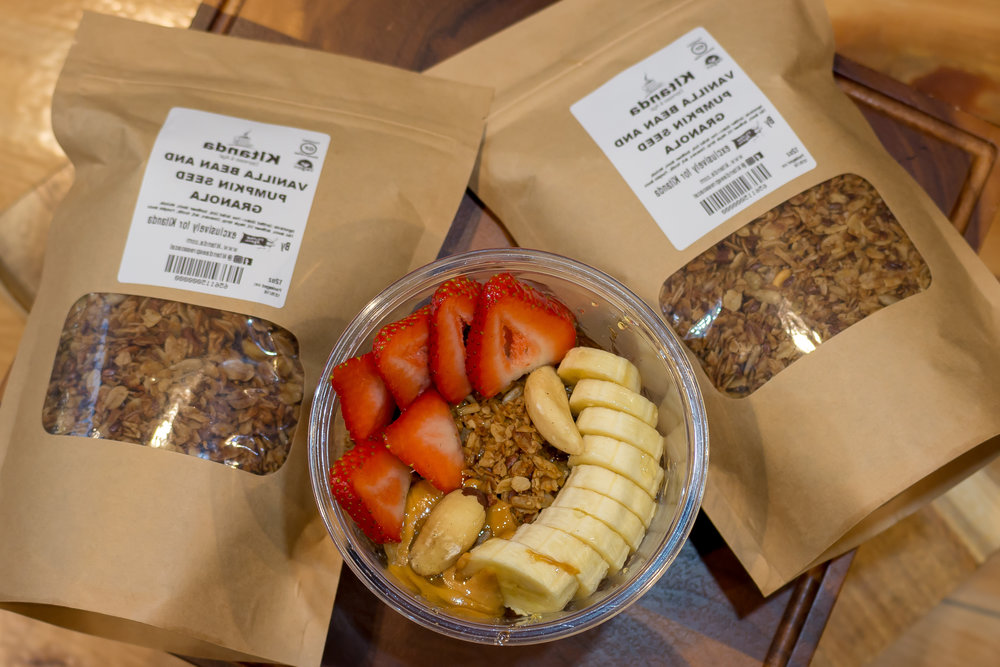 Try our delicious granola! - Made locally by Flying Apron exclusively for Kitanda.