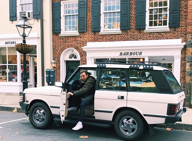 We paid $40 for this shot, was it worth it? Comment below. #parkingticket #spendmoneytomakemoney . . . . . #barbour #rangerover #rangeroverclassic #rrc #defender #landrover #princeton #palmersquare #bonobos #stylemen #mensfashion #mensstyle #gq #denim #casio #converse #ootd #entrepreneur #entrepreneurlife #postgrad #postgradlife #fastcompany #millenial #millenials #vintage #fall #fallstyle #fallfeels
