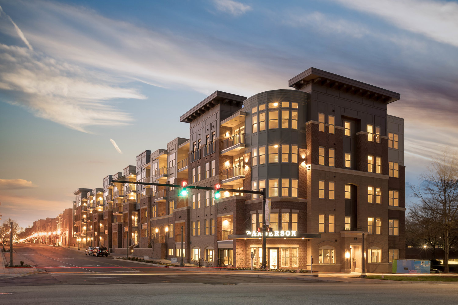 the anderson new apartments in downtown rock hill sc