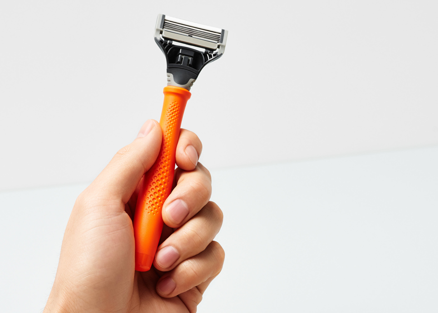 Truman Performance Texture |Harry's - A data-driven functional texture for the Truman razor handle