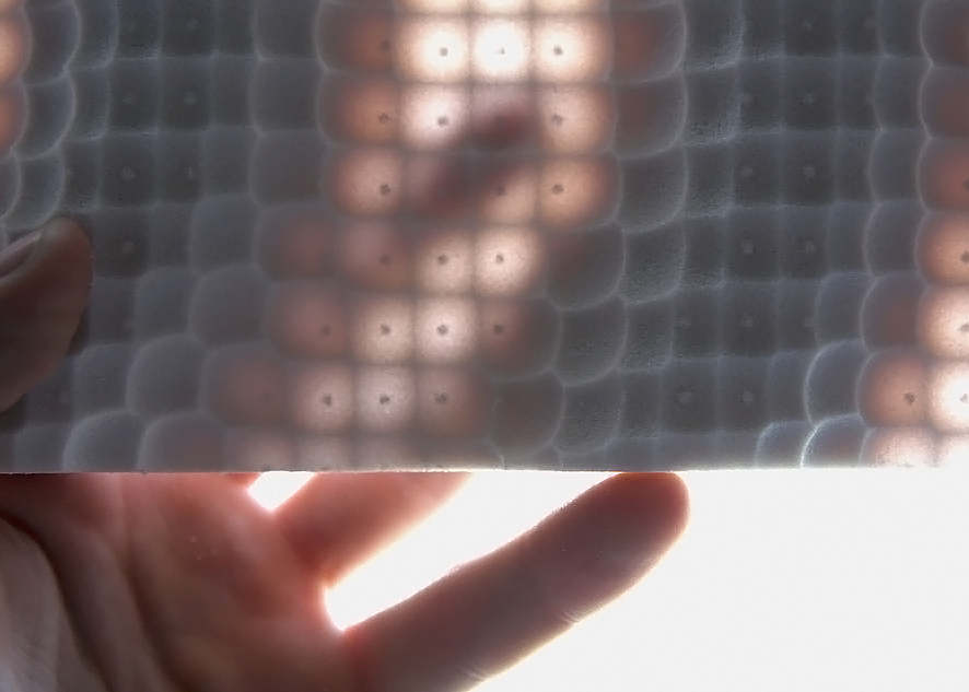 DATA-DRIVEN FUNCTIONAL TEXTURES | MODE lAB - Fabricating functional textures that produce optical effects