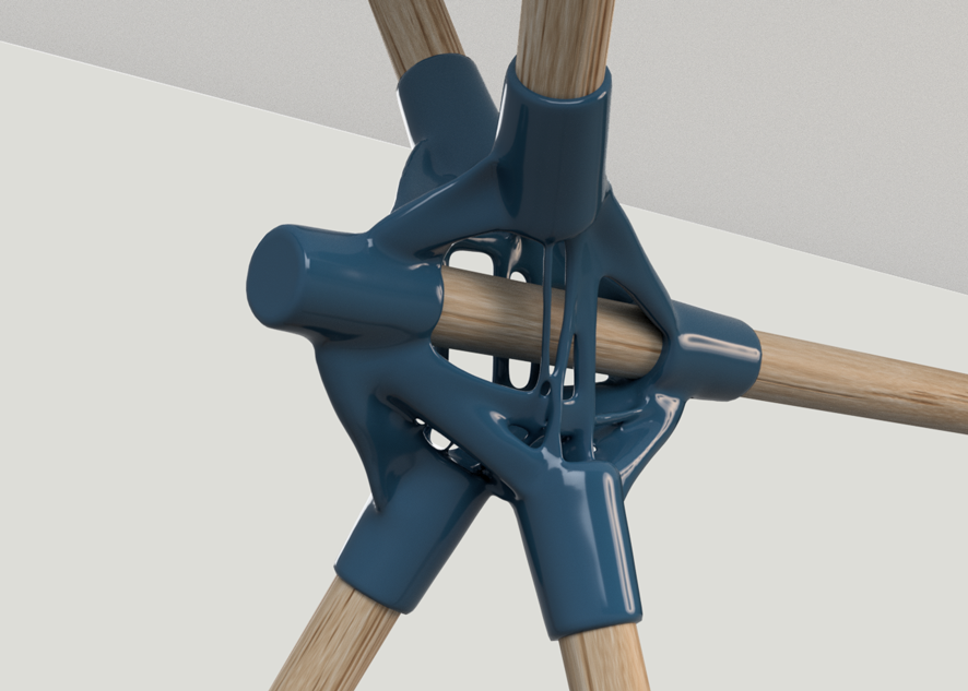 generative table joint design | mode lab - Using AI-based technology to generate structural furniture joints for 3D printing