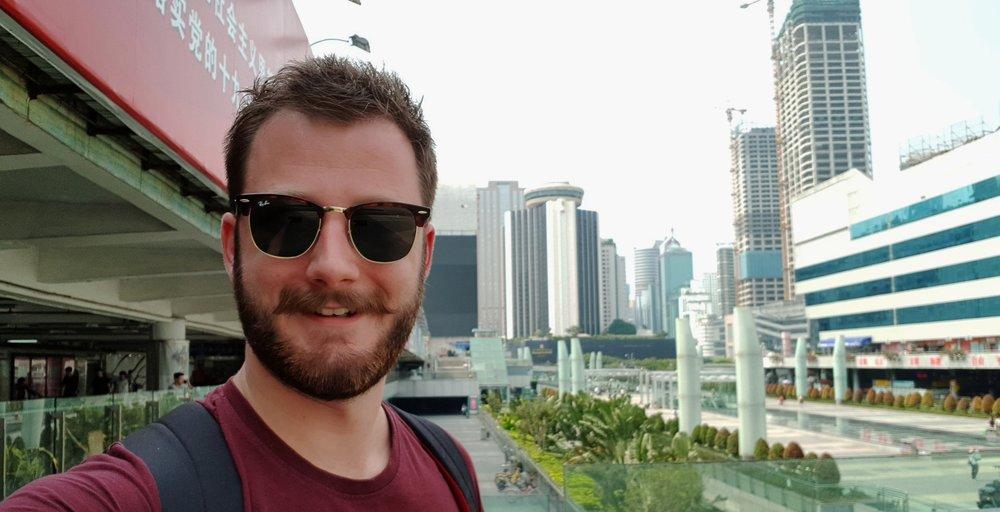 Charlie arrives in Shenzhen!