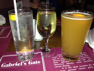 Drinks from Gabriels Gate