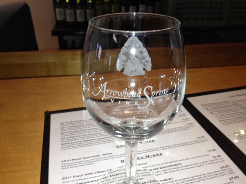 Arrowhead Wine Glass