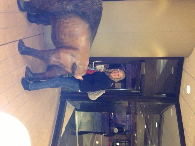 Me and the Buffalo at the Convention Center