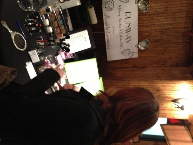 The Bride speaking with Runway Makeup Artistry & Esthetics