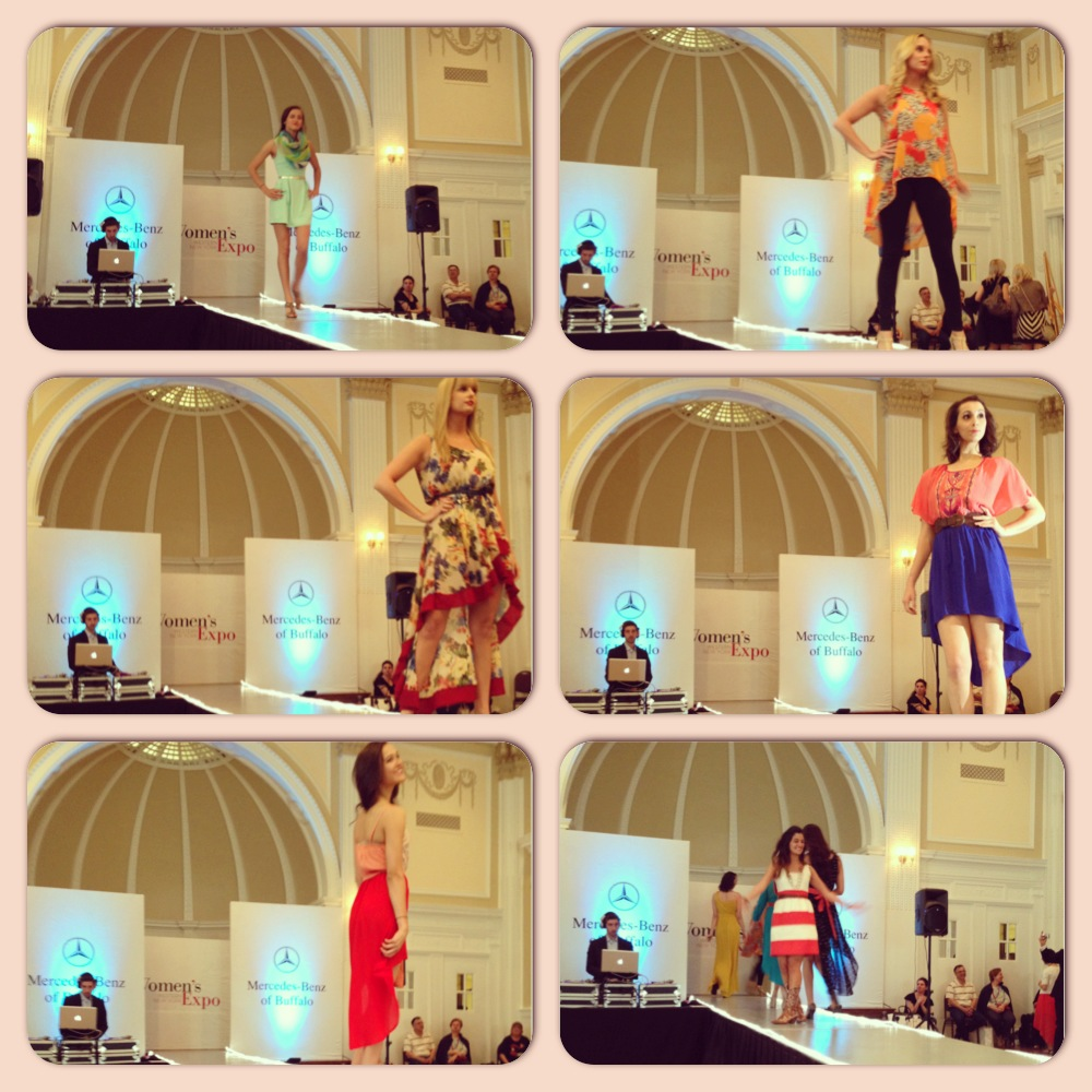 Ooo La La Boutique/Fashion Truck put on an awesome fashion show at the WNY Women's Expo this past week