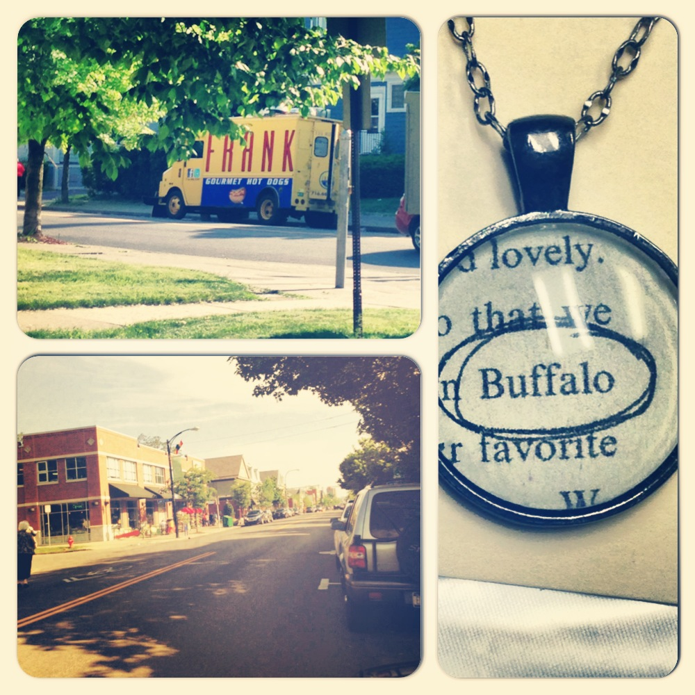 Elmwood, Shopping, Frank Gourmet Hot Dogs Food Truck, Buffalo Necklace