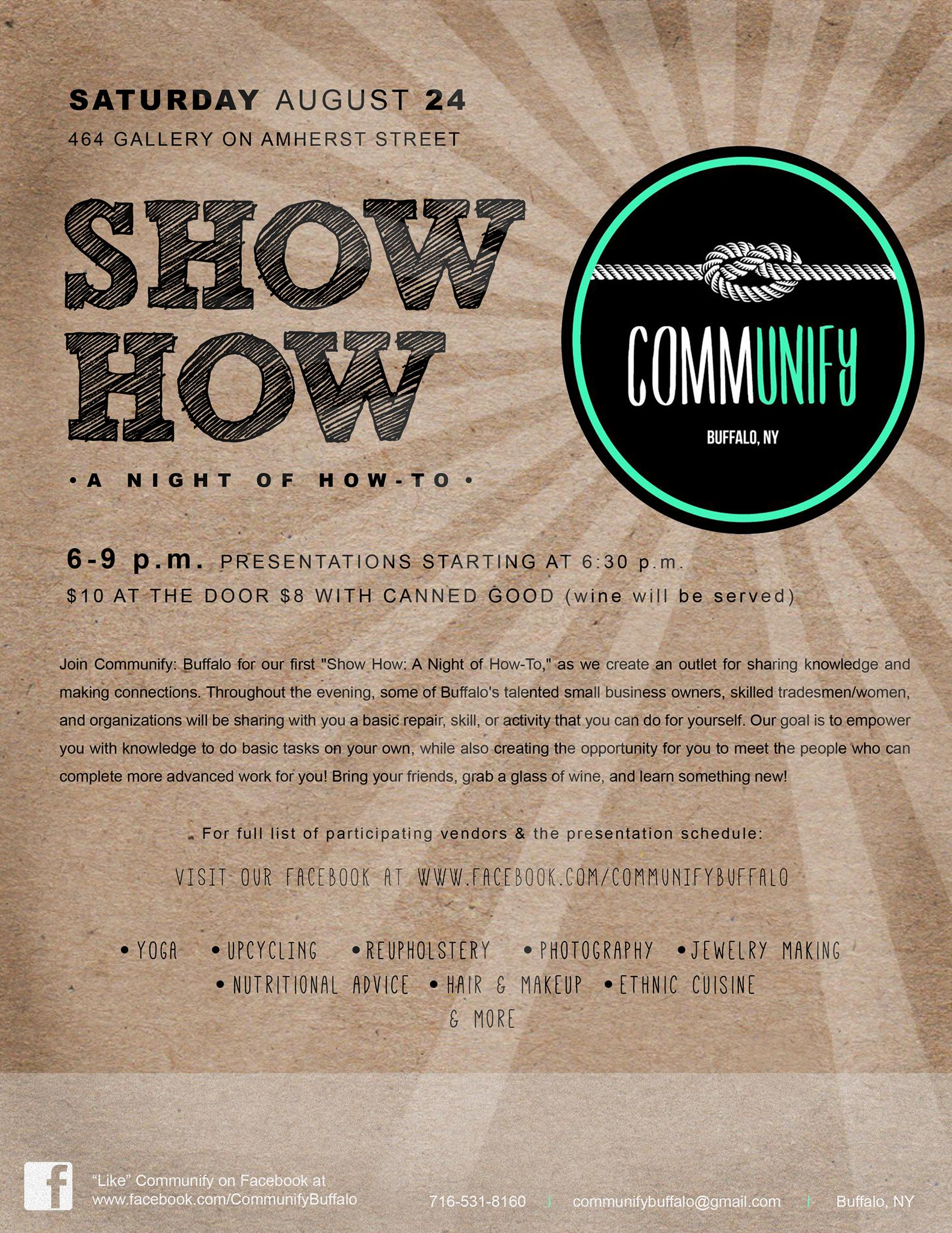 ShowHow Flyer