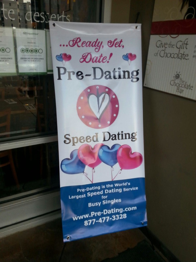 pre dating sign
