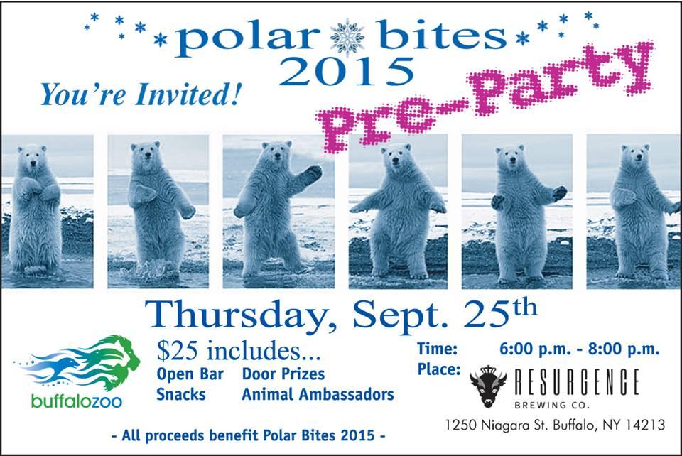 polar bites pre party