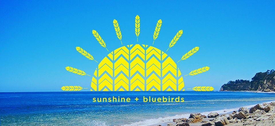 sunshine and bluebirds