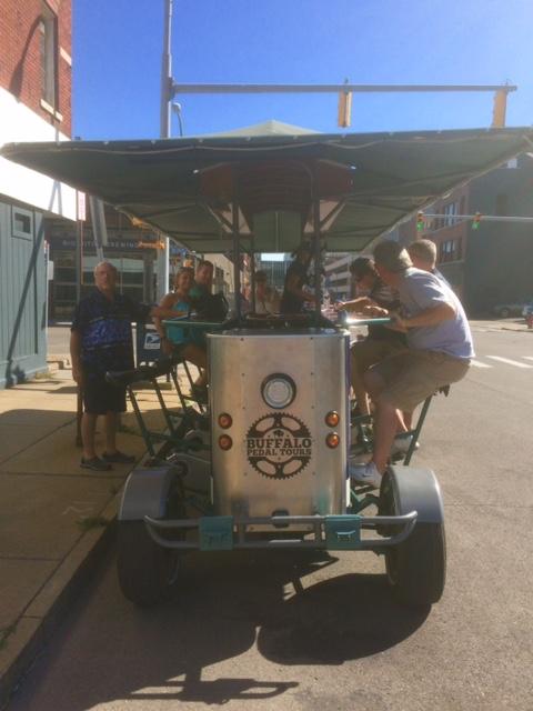 buf pedal tour