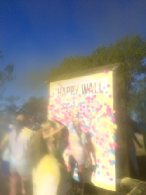 happy wall