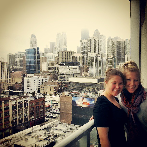 Our last day in the City. We had an amazing view!