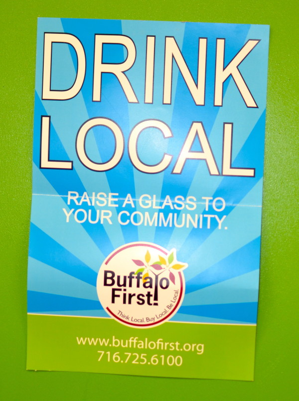 Drink Local Poster at Community Beer Works