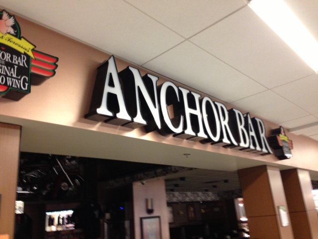 Anchor Bar at the Buffalo Niagara Airport should be open for the early morning crowd
