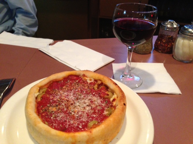 Chicago style pizza - Deep Dish