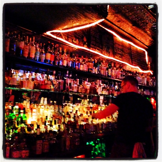 Delilah's reminded me a the bars on Allen St. in Buffalo
