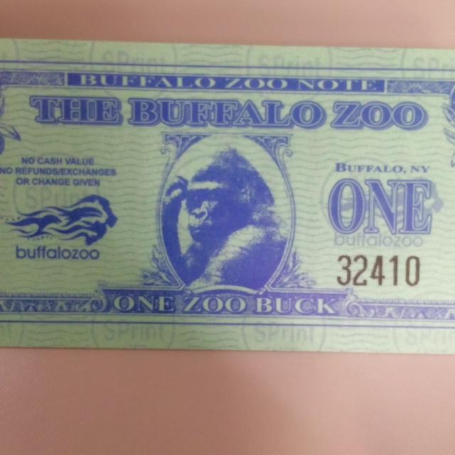 zoo bucks