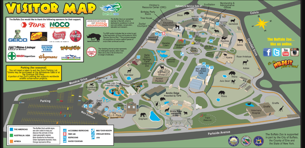 Vanishing Animals North is located in the upper right hand corner of the Zoo map