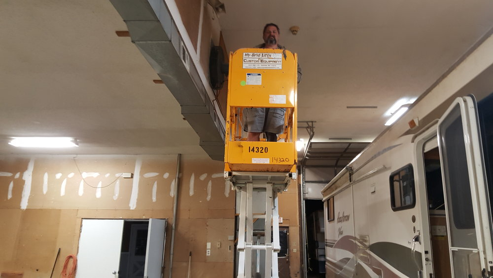 OUR SCISSOR LIFT