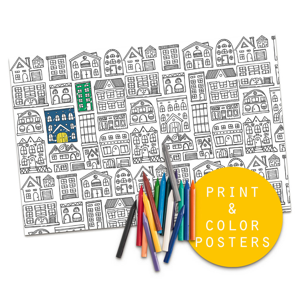 PRINT & COLOR POSTERS