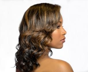 - soft glamorous curls or waves $75 1 hr