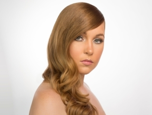 - flowy waves or curls on long hair $75 1 hr