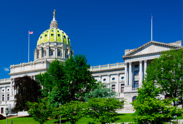 Capitol Building, Harrisburg Pennsylvania