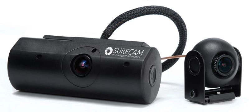 Two Camera SureCam Vehicle Dash Cam