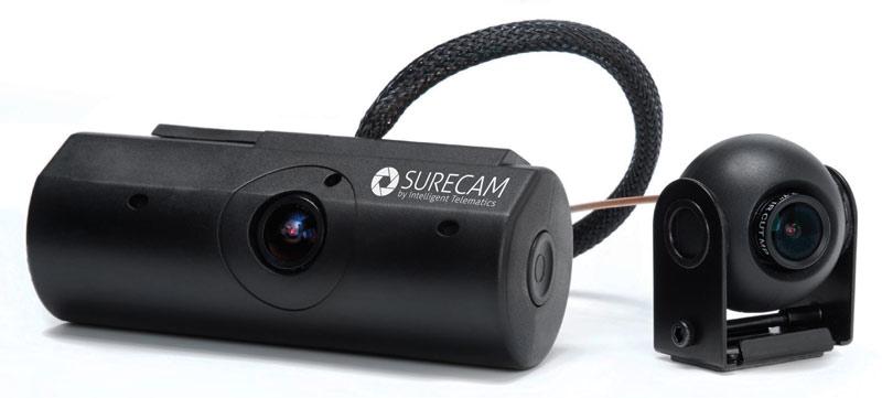 Two Camera SureCam Vehicle Dash Cam