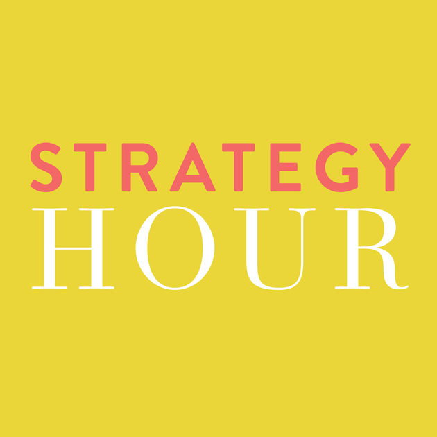 Think Creative Collective I The Strategy Hour Podcast I Cutting Edge I The Profit Coach for Creatives