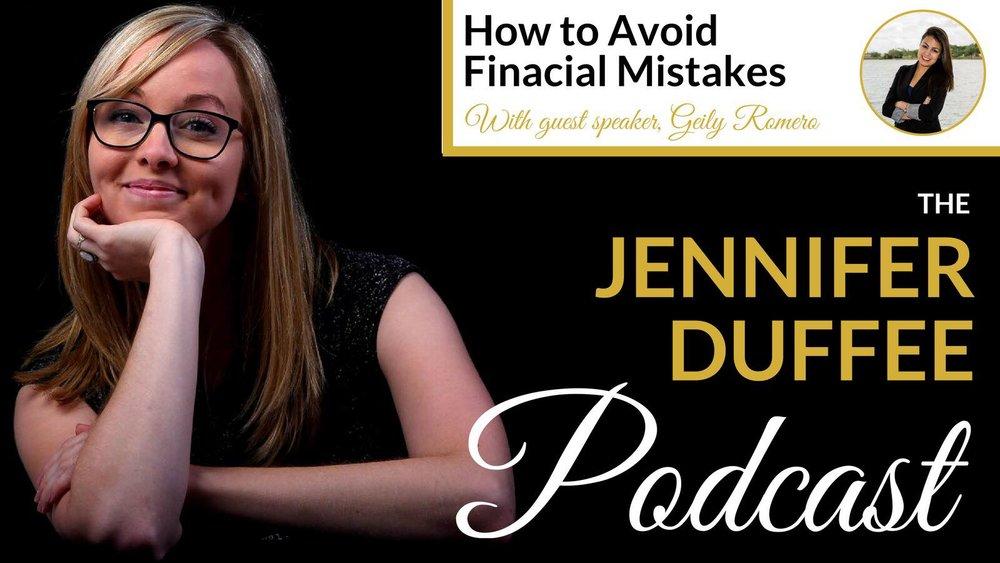 The Jennifer Duffee Podcast I Cutting Edge I The Profit Coach for Creatives