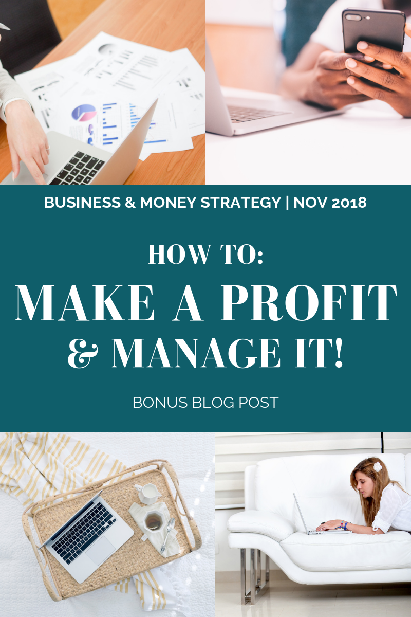 How To: Make a Profit & Manage it! l Cutting Edge Collective Blog