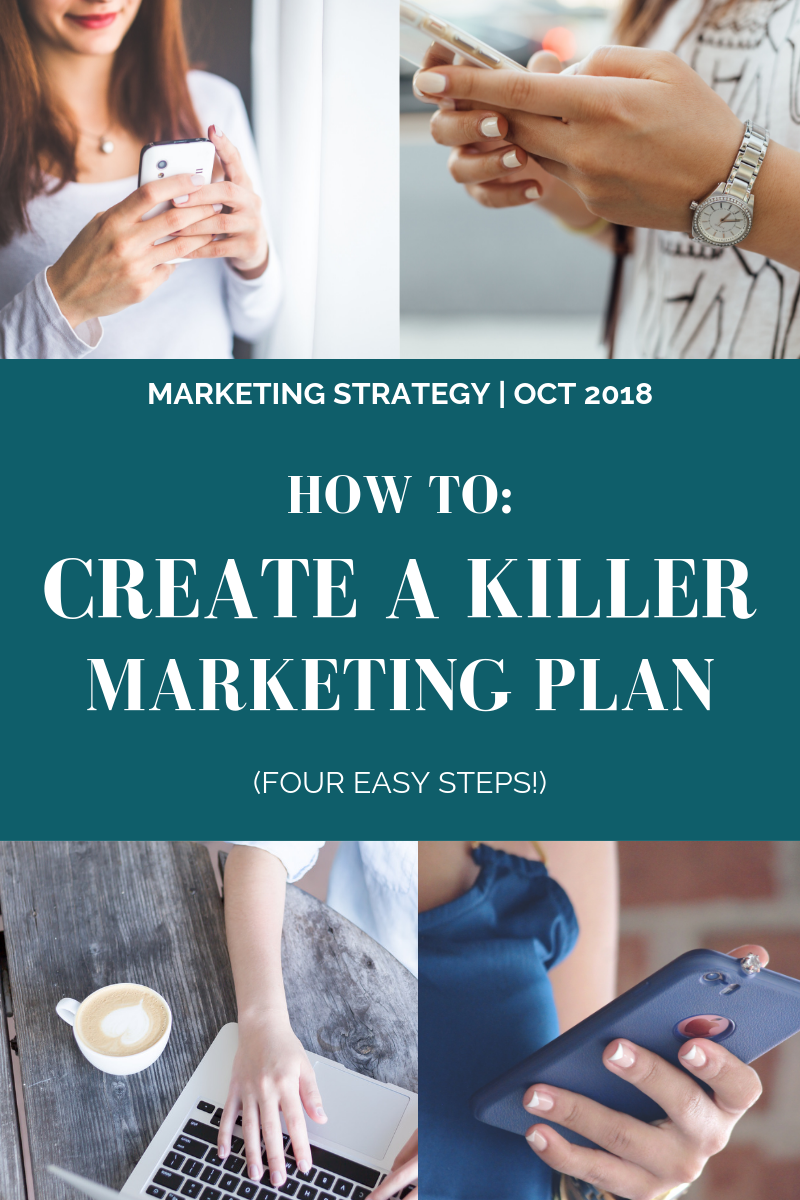 How To: Create a Killer Marketing Plan (Four Easy Steps!) l Cutting Edge Collective Blog