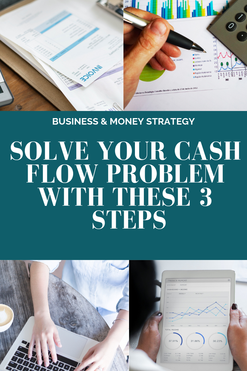 Solve your cash flow problems with these 3 steps! l Cutting Edge Collective Blog