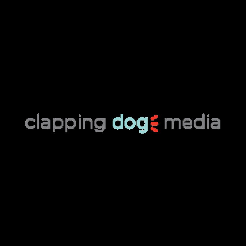 clapping dog media logo