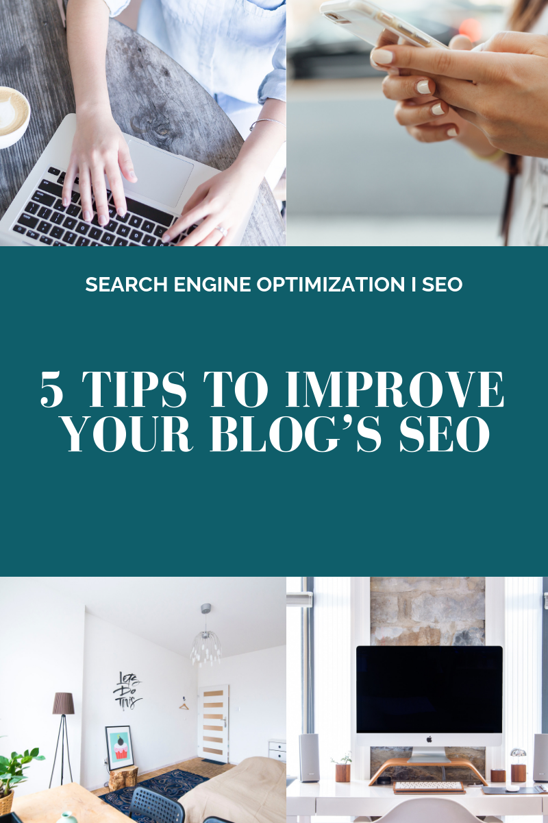 5 Tips to Improve your Blog's SEO l Cutting Edge Collective Blog