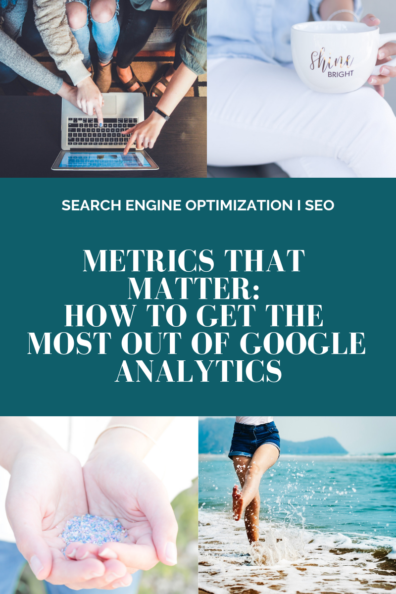 METRICS THAT MATTER:   HOW TO GET THE MOST OUT OF GOOGLE ANALYTICS l Cutting Edge Collective Blog
