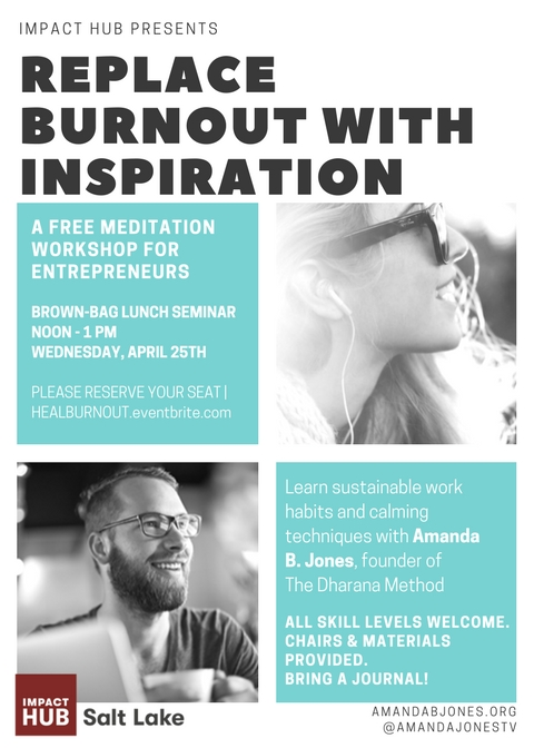 free meditation entrepreneur stress burnout