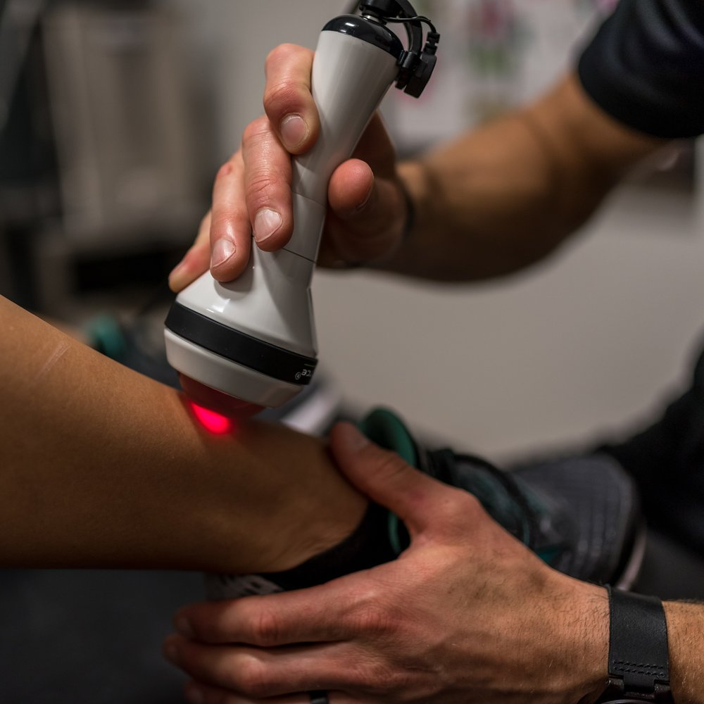 Deep Tissue laser therapy -