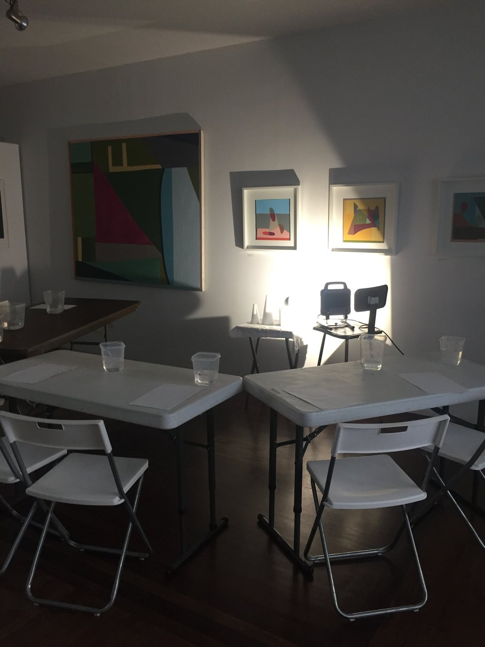 each class is different - We do a different painting activity in each class. From a black and white study to learn shadow and light to painting a landscape that matters to you, each class is different. Because learning the basics does not have to be boring.