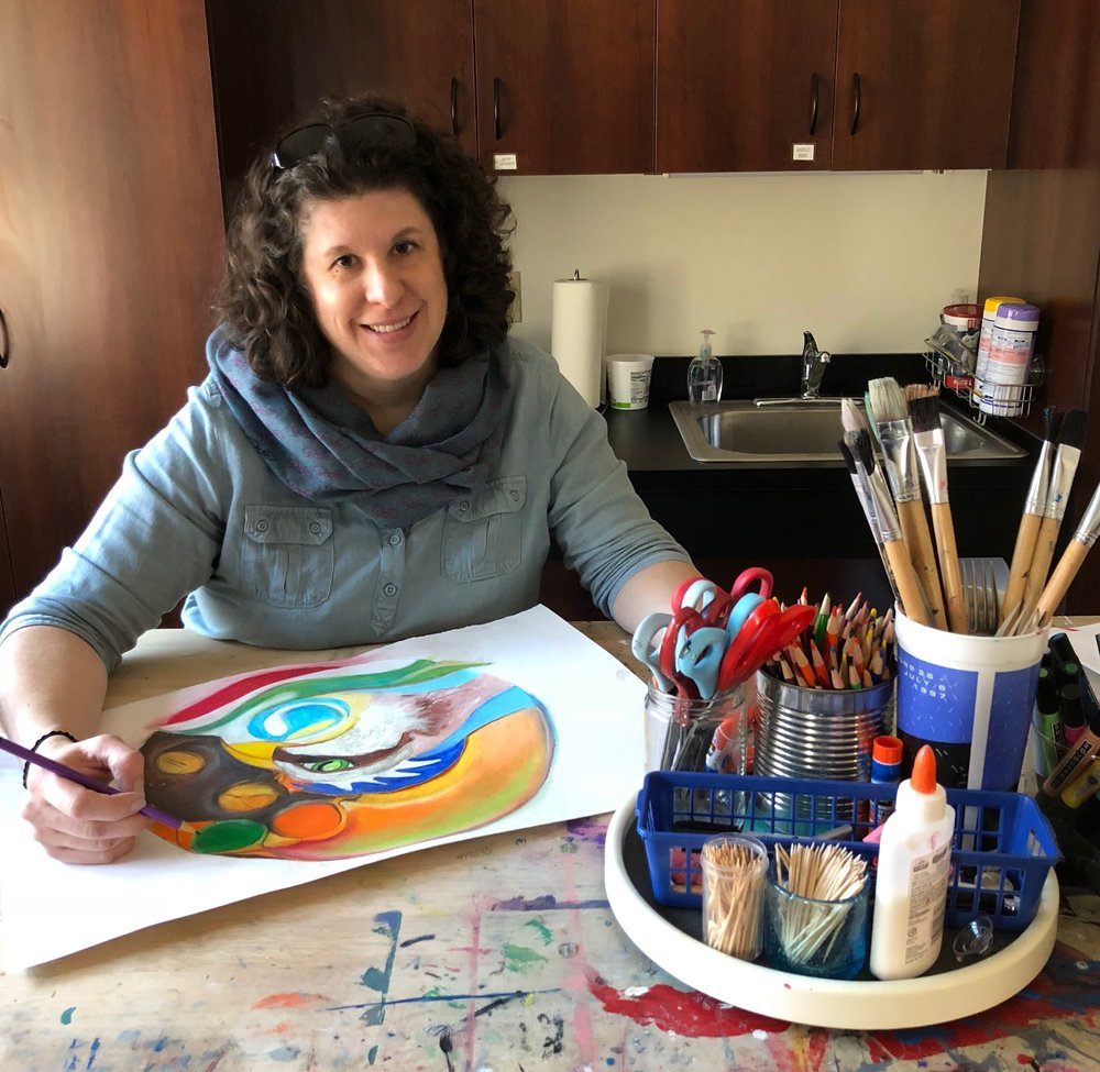 Hilary Chermak, MS, ATR-BC, LCPC    Art Therapist   Hilary obtained her Master of Science in Art Therapy from Mount Mary University in Milwaukee and loves working with individuals one on one while allowing art to guide and heal. Hilary is DEEP certified and treats children, adolescents and adults with various substance use and mental health disorders, including clients receiving Medication Assisted Treatment for opioid addiction. In her spare time, she paints, bikes, and hikes.
