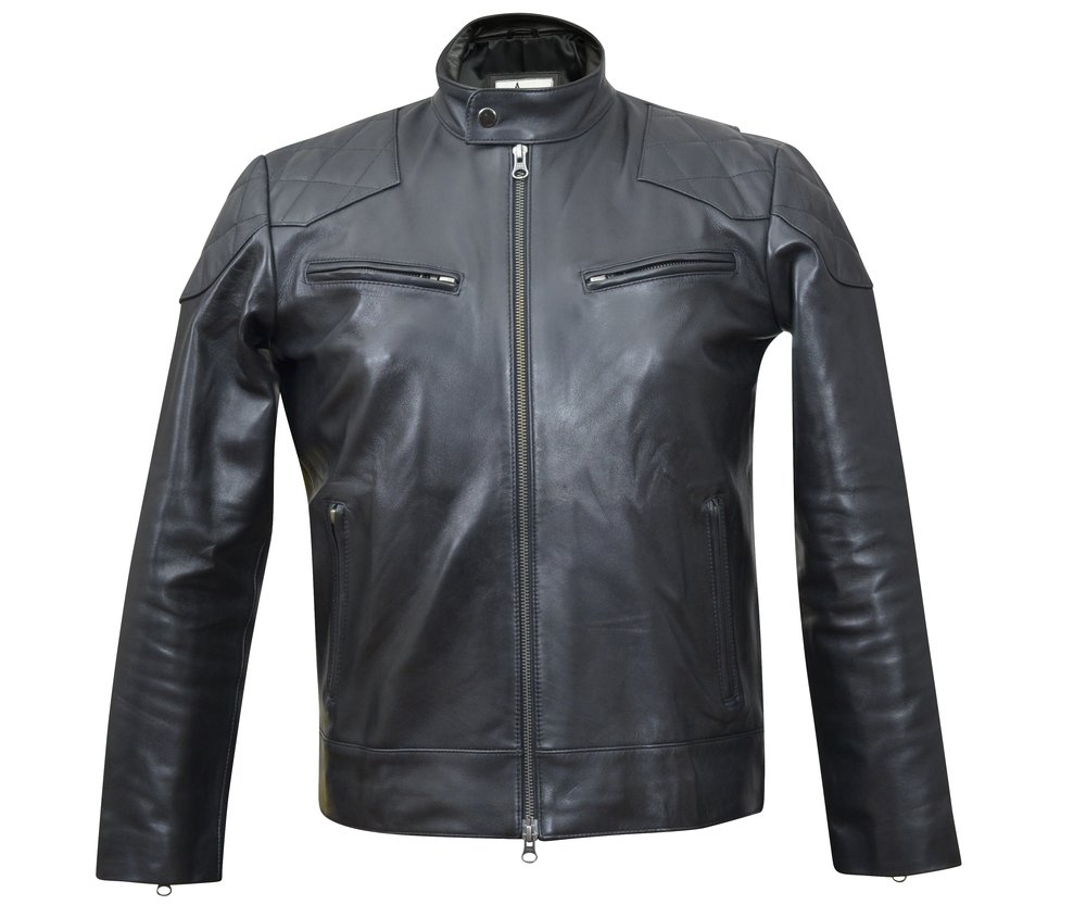 The Quilted Moto Real Custom Leather Jackets Independence Brothers