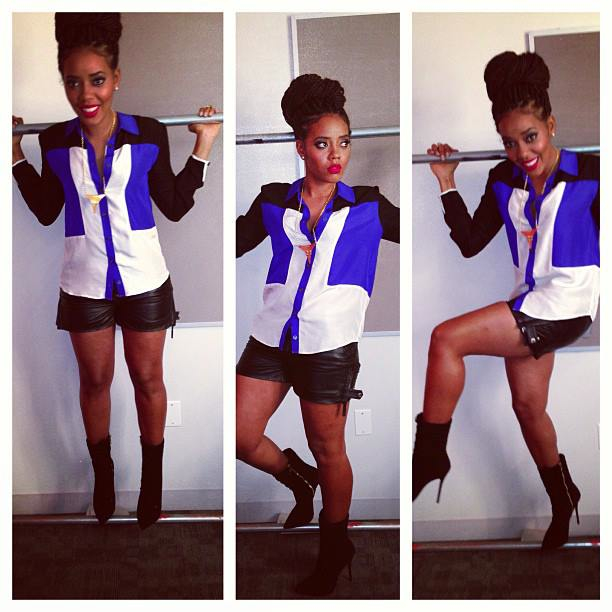 8.Angela Simmons in Ainsley Blouse.jpg