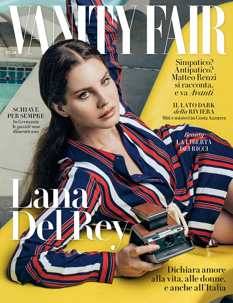 Vanity Fair Italia Selected Covers — Devin Pedzwater