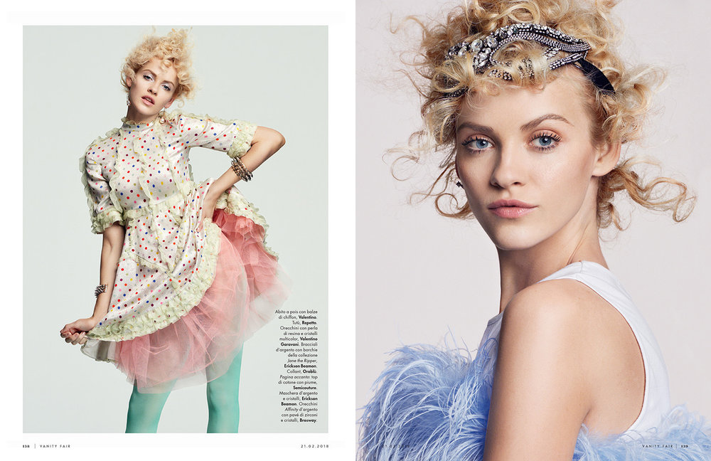 VANITY FAIR ITALIA Dancing in the Sky by Greg Kadel
